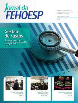 Jornal da FEHOESP ed. 8 jul/ago 2014 Clique aqui para visualizar