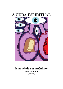 Clique aqui para baixar o livro A CURA