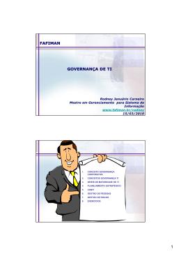 Governanca de TI