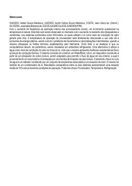 Watercooler. GUEDES, Helder Souza Medeiros, GUEDES, André