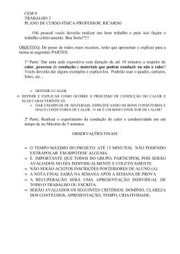 CEM 9 TRABALHO 2 PLANO DE CURSO-FÍSICA