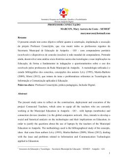 Professor Conect@do - Prefeitura de Anápolis