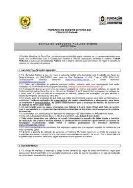 prefeitura do município de terra boa estado do paraná