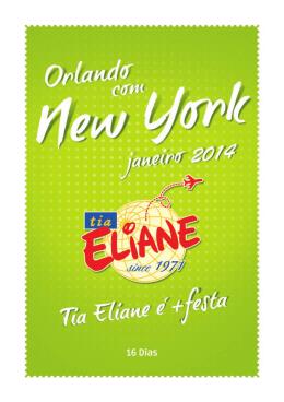 16 Dias - Tia Eliane