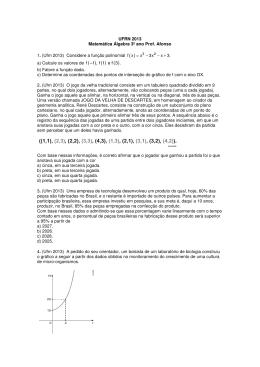 UFRN 2013 Comentada - Instituto Dom Barreto