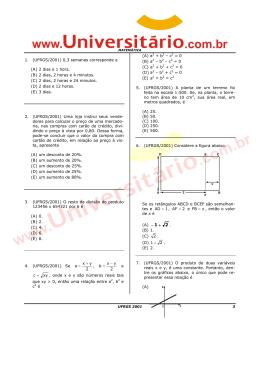 Matemática - PasseNaUFRGS