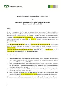 Anexo II - Modelo de contrato de concessão
