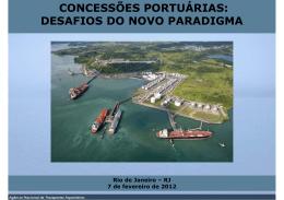 Concessões Portuárias: Desafios do Novo Paradigma Pedro