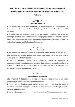 Normas de Procedimento - Câmara Municipal de Celorico da Beira