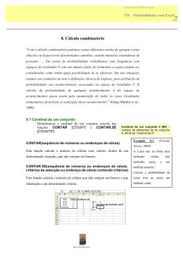 Cálculo Combinatório - Alea