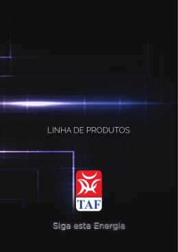 Catalogo Produtos TAF
