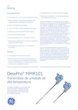 DewPro® MMR101 - GE Measurement & Control