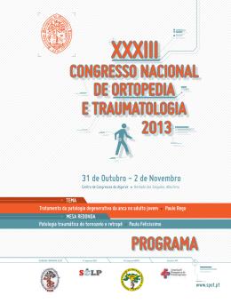 Programa Final - Sociedade Portuguesa de Ortopedia e