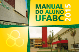 Manual do Aluno - Prograd