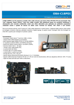 OBA-C18PDI – PC Compacto Intel® Bay-Trail