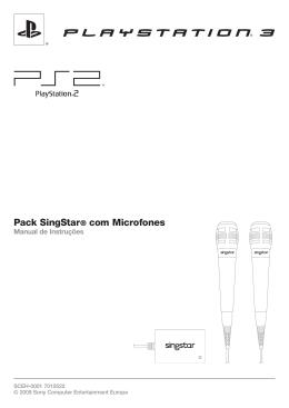 Pack SingStar® com microfones - Manual de Instruções