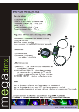 Interface megaDMX USB