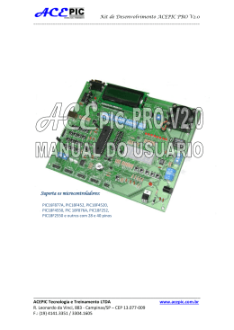 Manual ACEPIC PRO V2.0