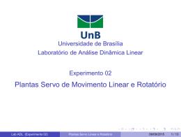 Slides de aula - Universidade de Brasília