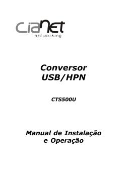 manual CTS500U