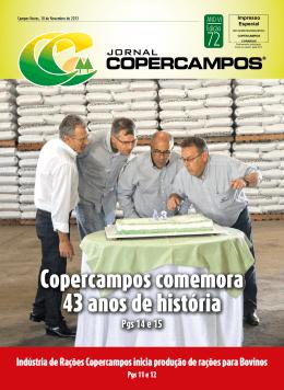 Copercampos comemora 43 anos de história