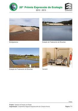 Geração de Energia com Biogás