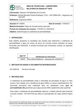 ÁREA DE TECNOLOGIA - LABORATÓRIO RELATÓRIO