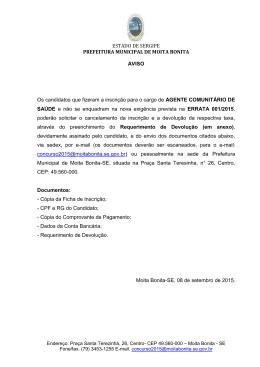 aviso iii 15/09/2015