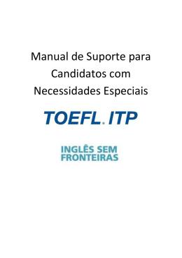 Manual de Suporte para Candidatos com Necessidades