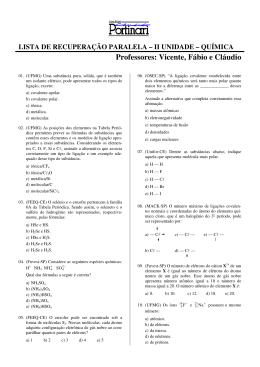 Professores: Vicente, Fábio e Cláudio