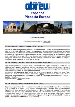 Espanha Picos da Europa