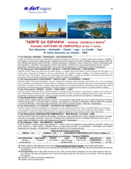 """""""NORTE DA ESPANHA – Astúrias, Cantábria e - M.Dart"""