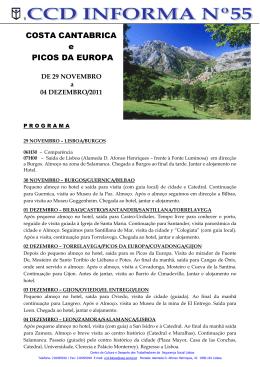 COSTA CANTABRICA e PICOS DA EUROPA