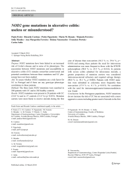 NOD2 gene mutations in ulcerative colitis: useless or