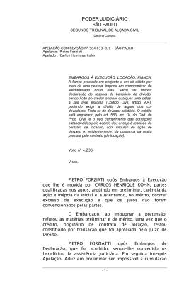 PODER JUDICIRIO - Desembargador Irineu Pedrotti