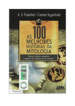 As 100 melhores histórias da mitologia