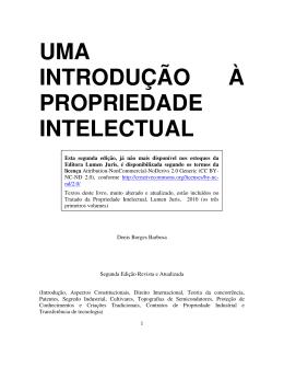 uma introdução à propriedade intelectual