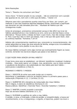 """Série Resoluções Tema 1: """"Resolvo me comunicar com Deus"""