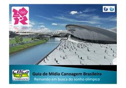 Guia de Mídia Canoagem Brasileira