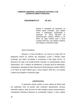 comissão amazônia e desenvolvimento regional