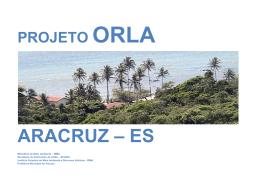 X - Prefeitura Municipal de Aracruz