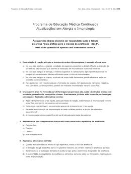 Programa de Educação Médica - ASBAI