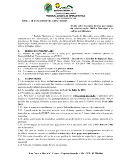 Rua Costa e Silva s/nº. Centro Esperantinópolis MA. CEP