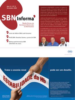 Dezembro 2008 - Sociedade Brasileira de Nefrologia