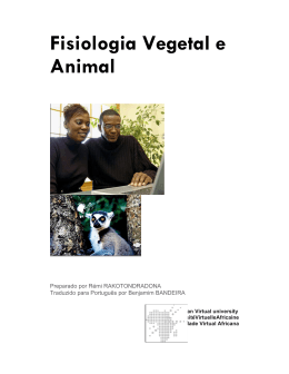 Fisiologia Vegetal e Animal - OER@AVU