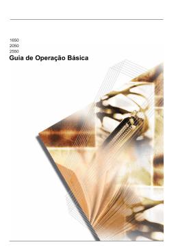 Guia de Operação Básica - KYOCERA Document Solutions