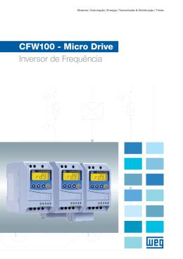 CFW100 - Micro Drive Inversor de Frequência