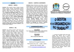 Folder - Prefeitura Municipal de Florianópolis