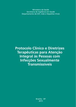 Protocolo Clínico e Diretrizes Terapêuticas para Atenção Integral às