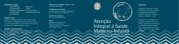 Atenção Integral à Saúde Materno-Infantil